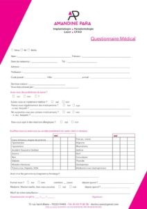 thumbnail of questionnaire medical