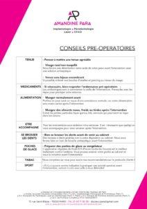 thumbnail of conseils preeoperatoires